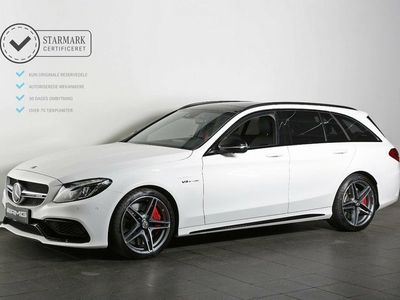 used Mercedes C63 AMG 4,0 AMG S stc. aut.