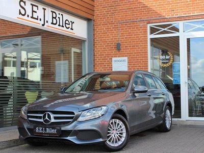 brugt Mercedes C200 d T 1,6 Bluetec Business 136HK Stc 6g A+