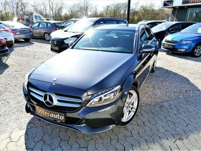 brugt Mercedes C220 2,2 BlueTEC AMG Line stc.