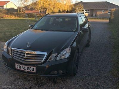 usado Mercedes E200 2,1 CDI BlueEfficiency 136HK Stc 7g Aut.