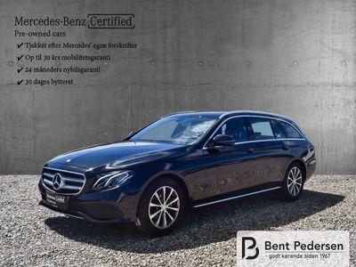 brugt Mercedes E200 2,0 9G-Tronic 184HK Stc 9g Aut.