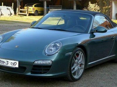 brugt Porsche 911 911II Cabrio Sonderfarbe Malachitgrünmet Leder II Cabrio Sonderfarbe Malachitgrünmet Leder