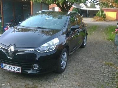brugt Renault Clio Sport Tourer 1,5 DCI Expression 75HK Stc