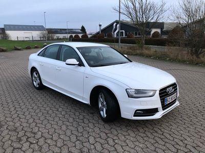 brugt Audi A4 2.0 TDI 150 HK 4-DØRS MULTITRONICComfort