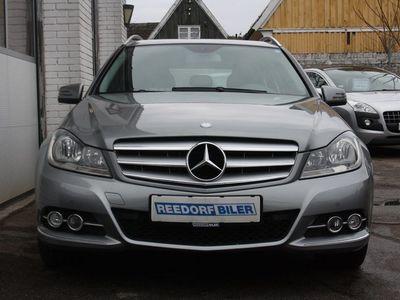 brugt Mercedes C200 2,2 CDi Avantgarde st.car BE
