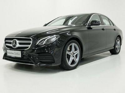 brugt Mercedes E220 AMG Line aut. 2020