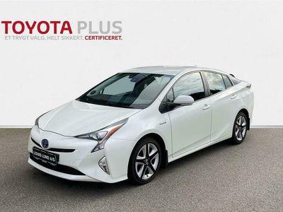 brugt Toyota Prius 1,8 Hybrid H3 122HK 5d Aut. A+++