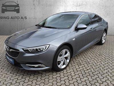 brugt Opel Insignia Grand Sport 1,5 Turbo Dynamic Start/Stop 165HK 5d 6g Aut. - Personbil - mørkgråmetal