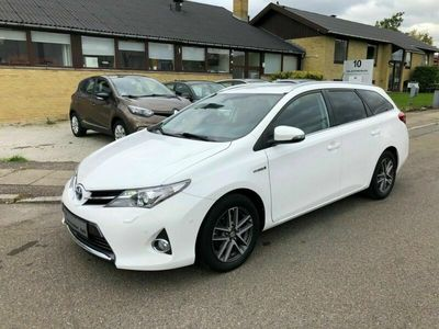 brugt Toyota Auris 1,8 Hybrid H2+ Comfort TS CVT