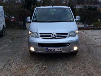brugt VW Multivan 2,5 TDI 174 Highline kort 10 prs 5d