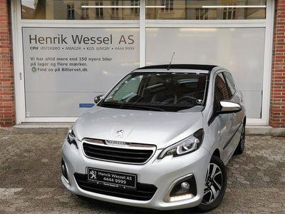 brugt Peugeot 108 1,0 e-Vti Desire TOP! 69HK 5d A++