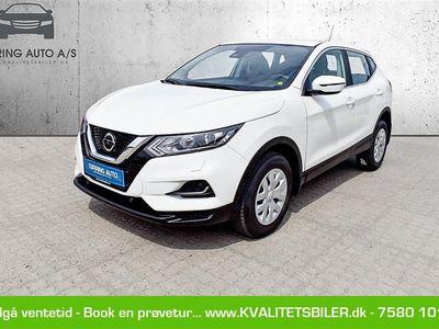 brugt Nissan Qashqai 1,5 DCi Visia 115HK 5d 6g - Personbil - hvid