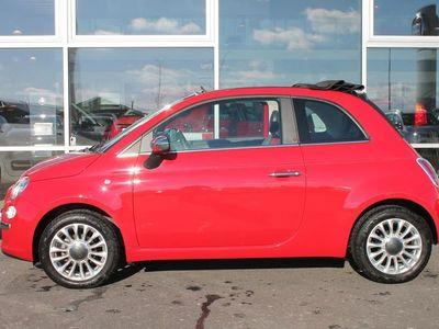 brugt Fiat 500C 1,2 Popstar 69HK Cabr.