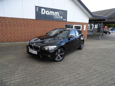 brugt BMW 120 2,0 d Steptronic 190HK aut 5d