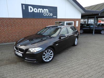 brugt BMW 520 2,0 d Touring Steptronic Luxury Line 190HK st.car aut