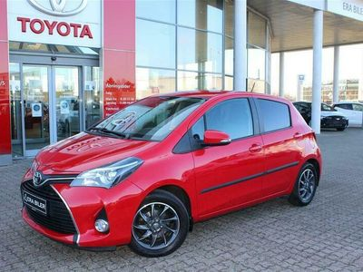 brugt Toyota Yaris 1,3 VVT-I T2 Touch Multidrive S 100HK 5d 6g