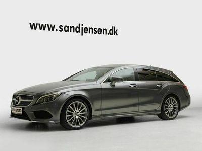 brugt Mercedes CLS350 Shooting Brake d 3,0 SB aut. 4-M