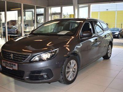 brugt Peugeot 308 1,6 BlueHDi 120 Allure Sky SW