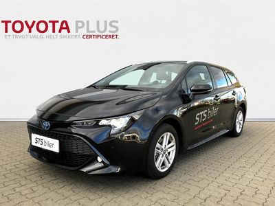 brugt Toyota Corolla Touring Sports 1,8 B/EL H3 Smart Safety Plus E-CVT 122HK Stc Trinl. Gear