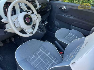 brugt Fiat 500 Lækker Fiat 500 Lounge Twinair 80