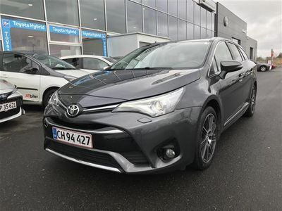 brugt Toyota Avensis Touring Sports 2,0 D-4D T2 premium + Skyview 143HK Stc 6g