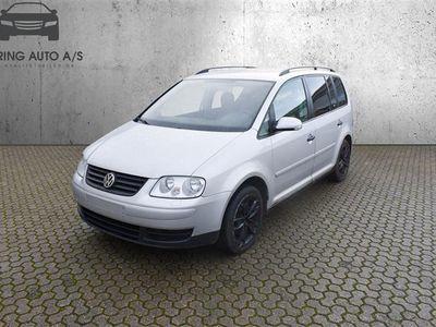 brugt VW Touran 1,9 TDI Conceptline 90HK 6g - Personbil - sølvmetal