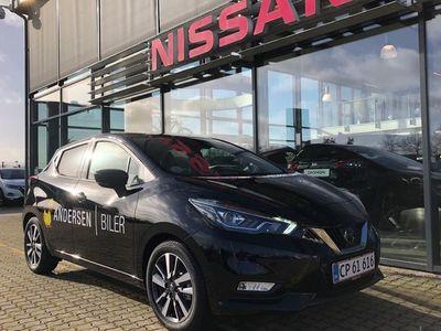 brugt Nissan Micra 1,0 IG-T Tekna Start/Stop 100HK 5d