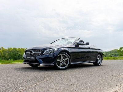brugt Mercedes C400 3,0 AMG Line Cabriolet aut. 4-M