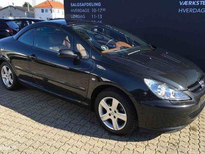 brugt Peugeot 307 CC 2,0 140HK Cabr. Aut.