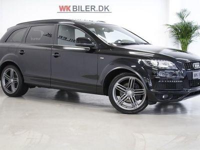 brugt Audi Q7 3,0 TDi 245 S-line quat. Tiptr. 7p