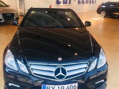 brugt Mercedes E350 5 CGi AMG Line Cabriolet aut. BE
