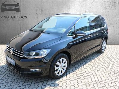 used VW Touran 1,4 TSI BMT Comfortline DSG 150HK 7g Aut. - Personbil - sortmetal - 7 pers.