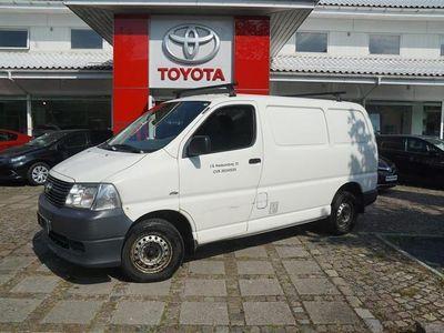 brugt Toyota HiAce Kort 2,5 D-4D 95HK Van
