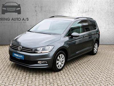 używany VW Touran 1,6 TDI BMT SCR Comfortline 115HK 6g - Personbil - grå - 7 pers.