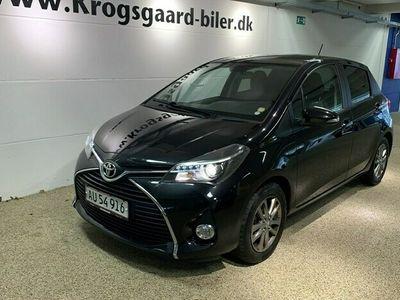 brugt Toyota Yaris 1,3 VVT-I T2 Comfort 100HK 5d 6g