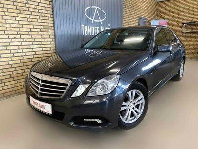 brugt Mercedes E350 0 CDi Avantgarde AMG aut. BE
