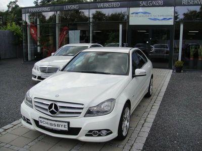 brugt Mercedes C200 2,2 CDi Avantgarde aut. BE