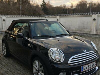 brugt Mini Cooper Cabriolet 1,6 Benzin