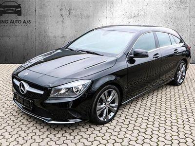 used Mercedes CLA200 Shooting Brake 1,6 156HK Stc 6g - Personbil - Sortmetal