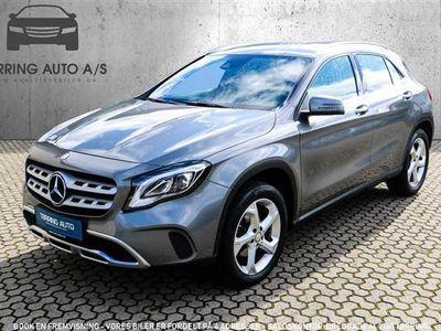 brugt Mercedes GLA200 2,1 CDI 136HK 5d 6g - Personbil - gråmetal