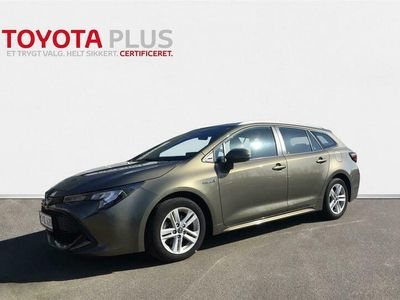 brugt Toyota Corolla Touring Sports 2,0 Hybrid H3 Smartpakke E-CVT 180HK Stc 6g Aut.