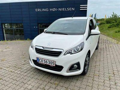 brugt Peugeot 108 1,0 e-Vti Edition 210+ 72HK 5d 29,7km/l