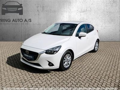 używany Mazda 2 1,5 Vision 90HK 5d - Personbil - hvid