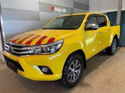 brugt Toyota HiLux 2,4 D-4D T4 4x4 150HK DobKab Aut.