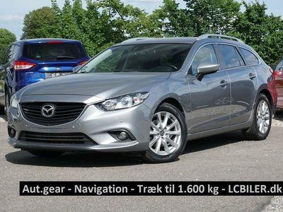 brugt Mazda 6 2,2 Sky-D 150 Vision stc. aut.