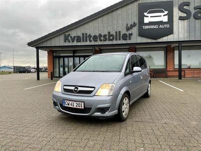 brugt Opel Meriva 1,6 Twinport Enjoy 105HK - Personbil - Sølvmetal