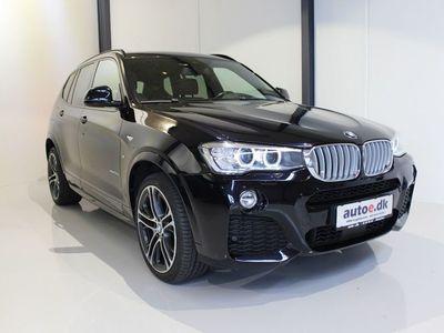 brugt BMW X3 3,0 xDrive30d M-Sport aut.