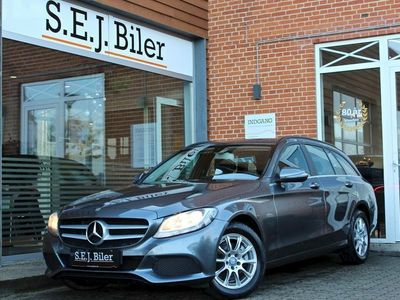 brugt Mercedes C220 d 2,2 stc. 170HK aut 5d
