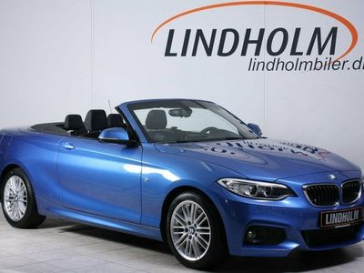 used BMW 220 d 2,0 Cabriolet