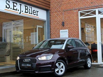 brugt Audi A1 Sportback 1,6 TDi 116HK 5d